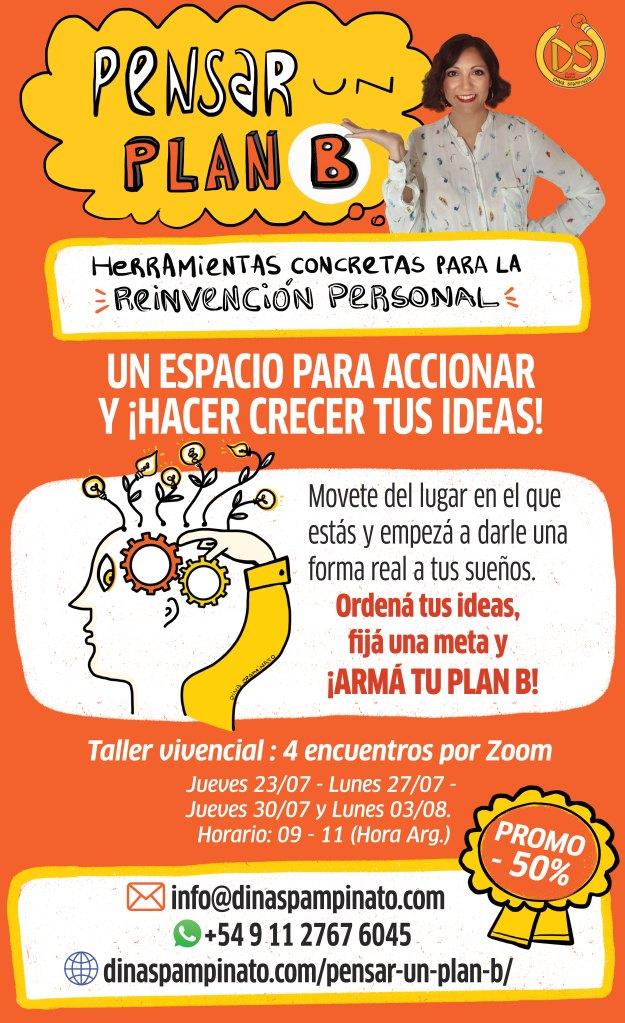 Pensar un Plan B, Herramientas concretas para la reinvención personal.